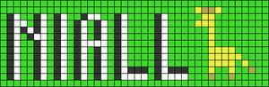 Alpha Friendship Bracelet Pattern #10054