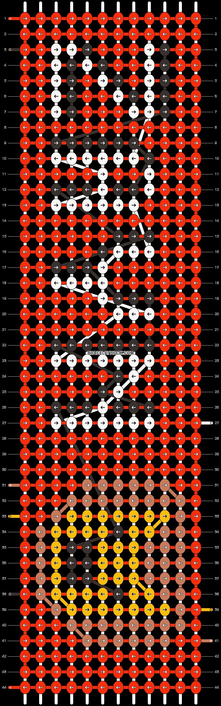 Alpha pattern #10055 pattern