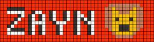 Alpha pattern #10055