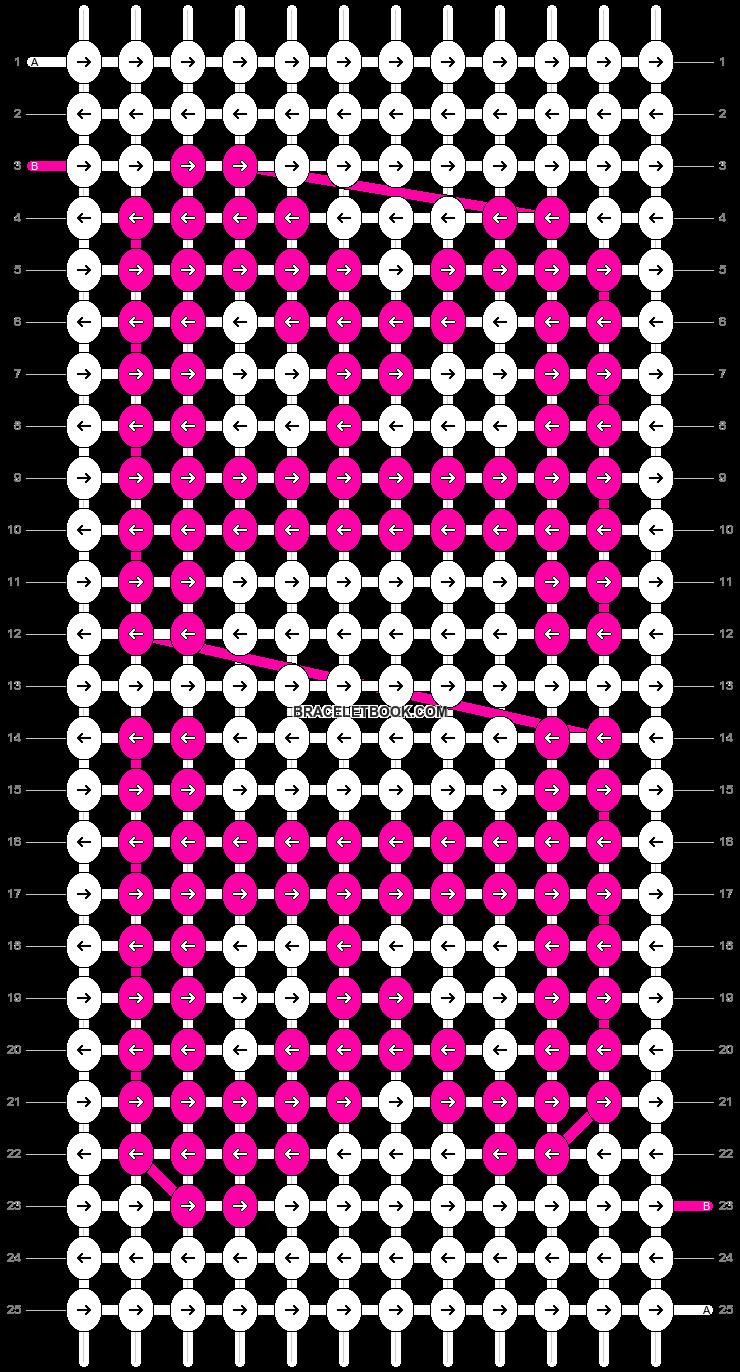 Alpha pattern #10057 pattern