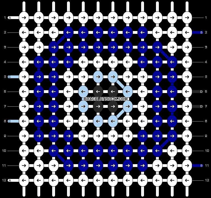 Alpha pattern #10060 pattern