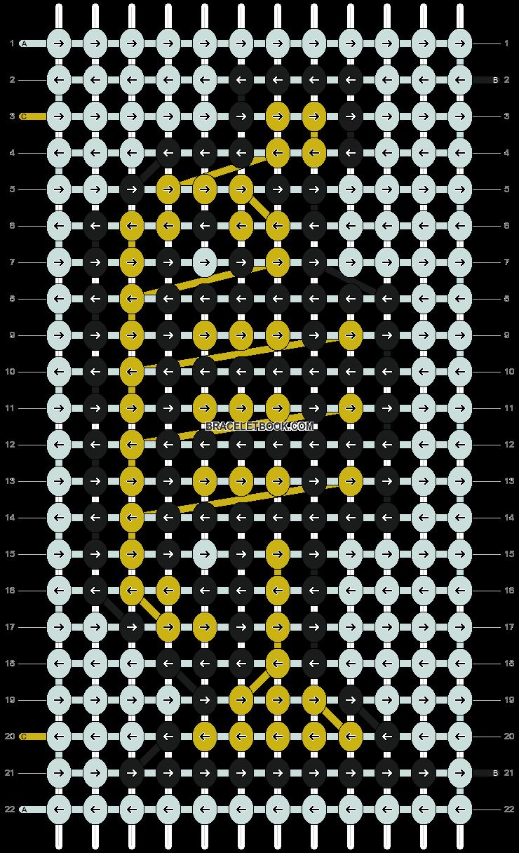 Alpha pattern #10061 pattern