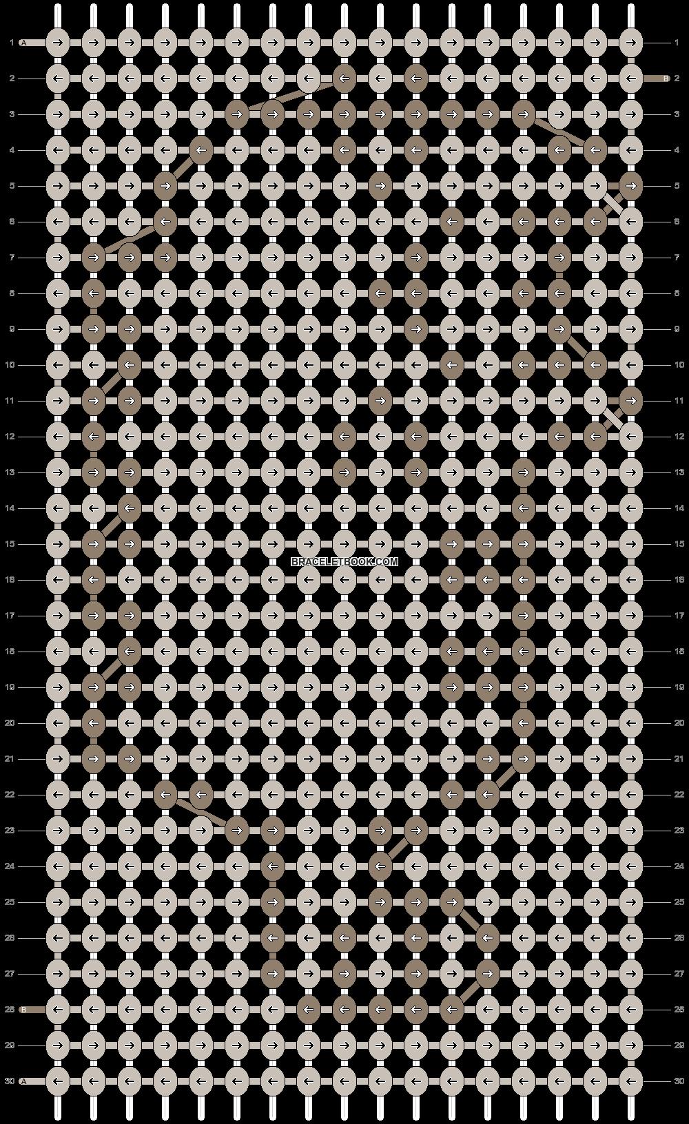 Alpha pattern #10063 pattern