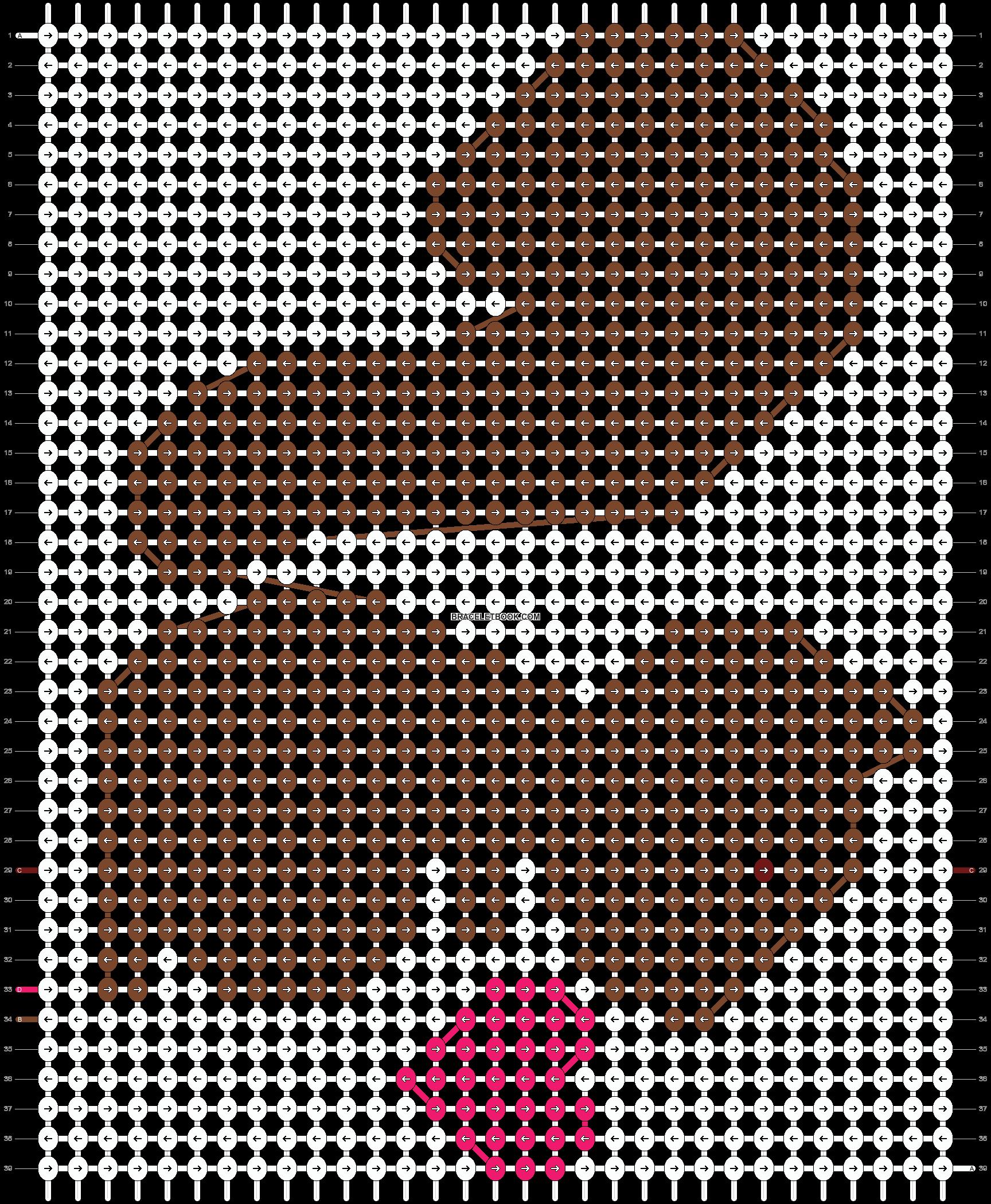 Alpha pattern #10064 pattern