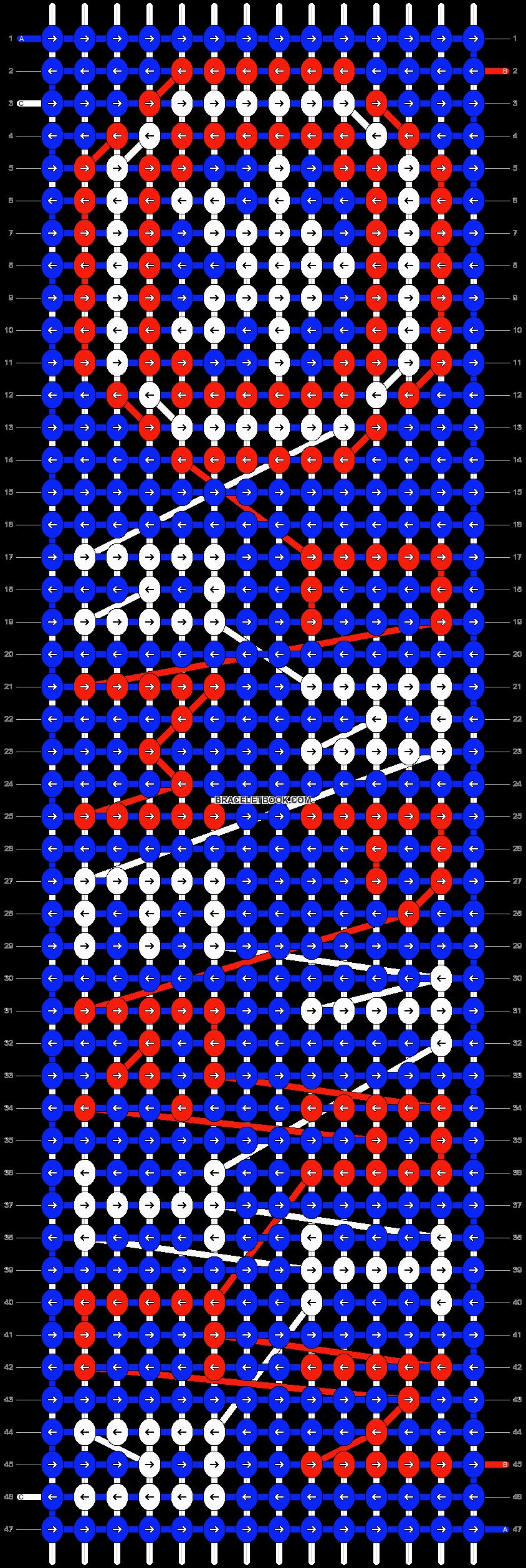Alpha pattern #10069 pattern