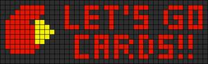 Alpha pattern #10070