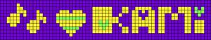 Alpha pattern #10073