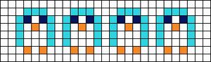 Alpha Friendship Bracelet Pattern #10075