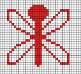 Alpha pattern #10076