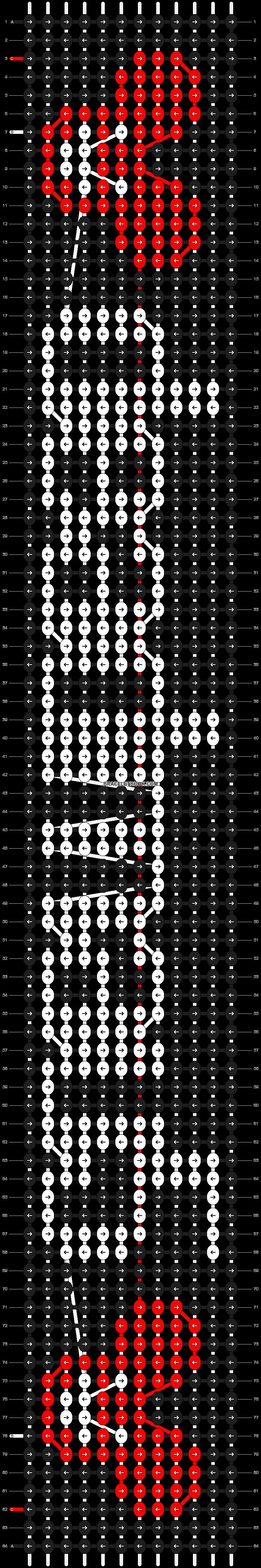 Alpha pattern #10082 pattern