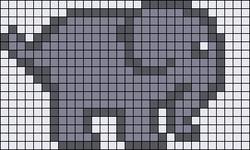Alpha pattern #10090