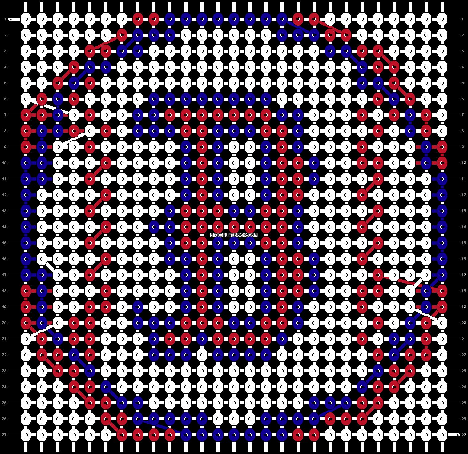 Alpha pattern #10094 pattern