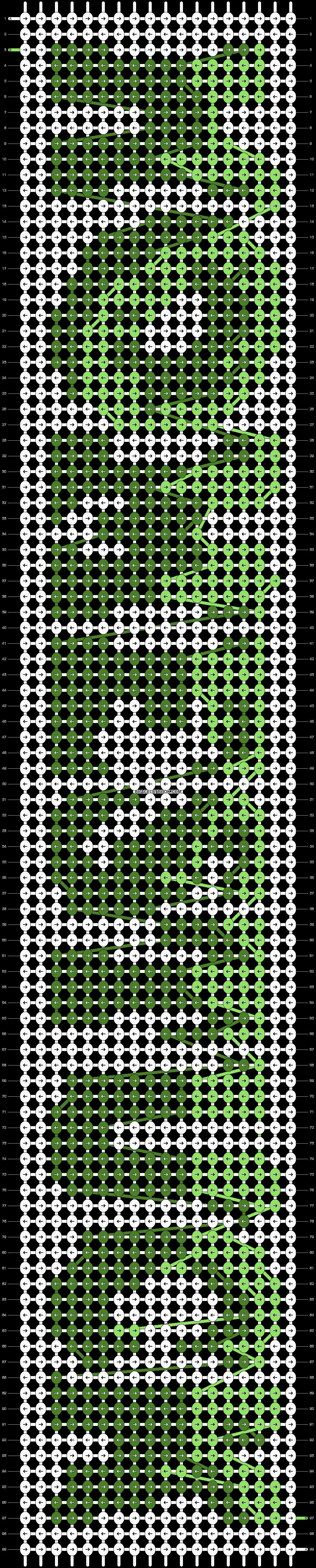 Alpha pattern #10101 pattern