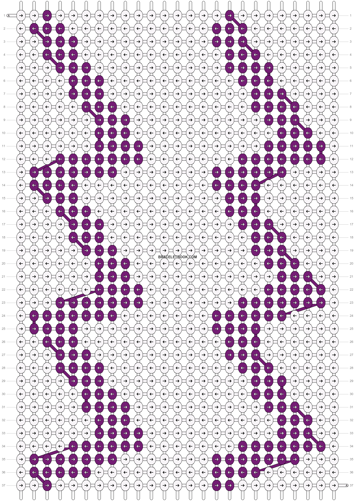 Alpha pattern #10103 pattern