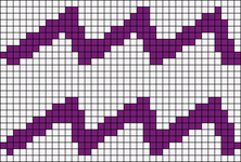 Alpha Friendship Bracelet Pattern #10103
