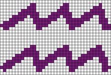 Alpha pattern #10103