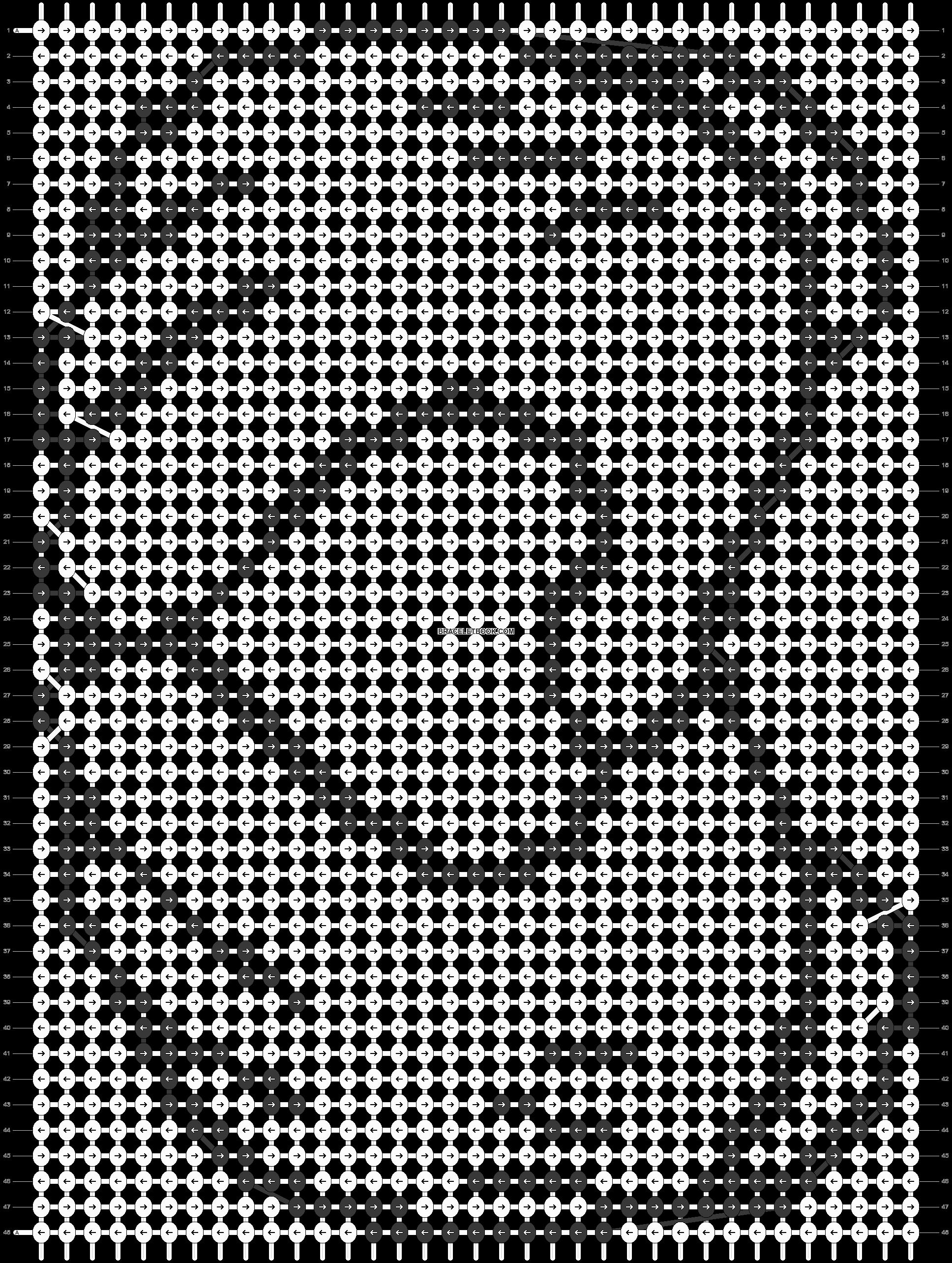 Alpha pattern #10117 pattern