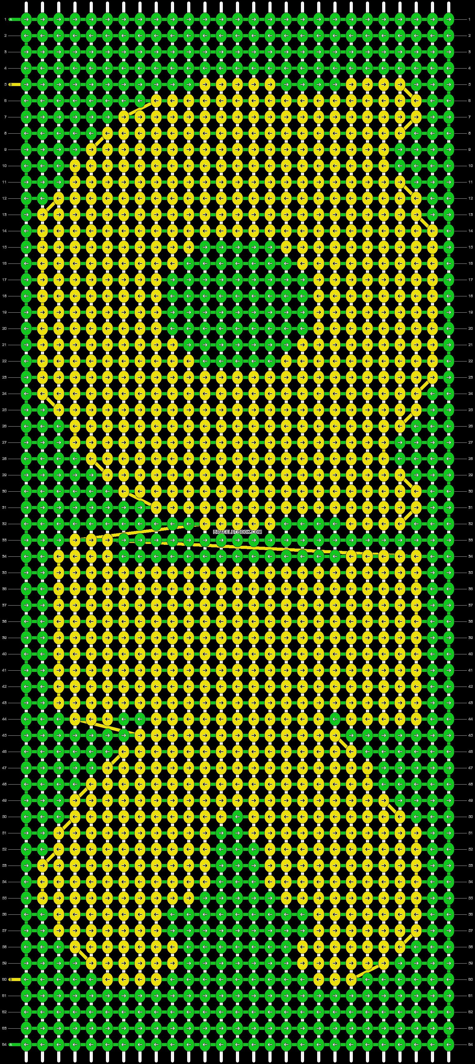 Alpha pattern #10121 pattern