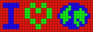 Alpha pattern #10125