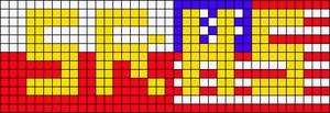 Alpha pattern #10127