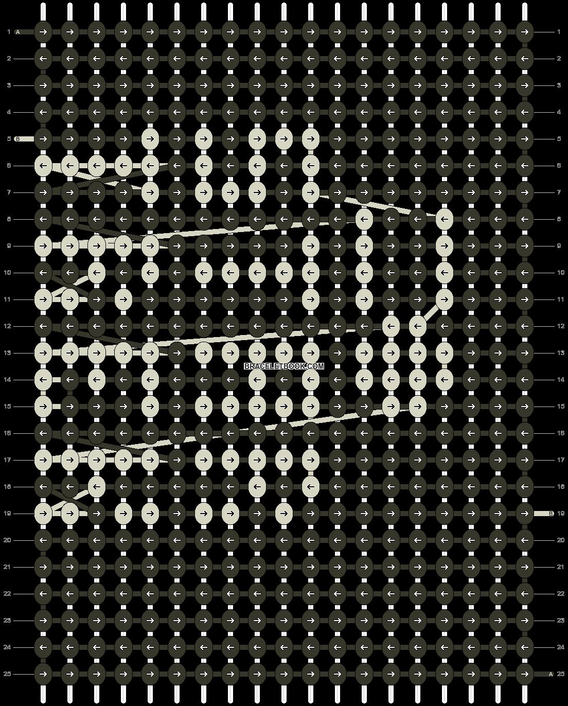 Alpha pattern #10132 pattern