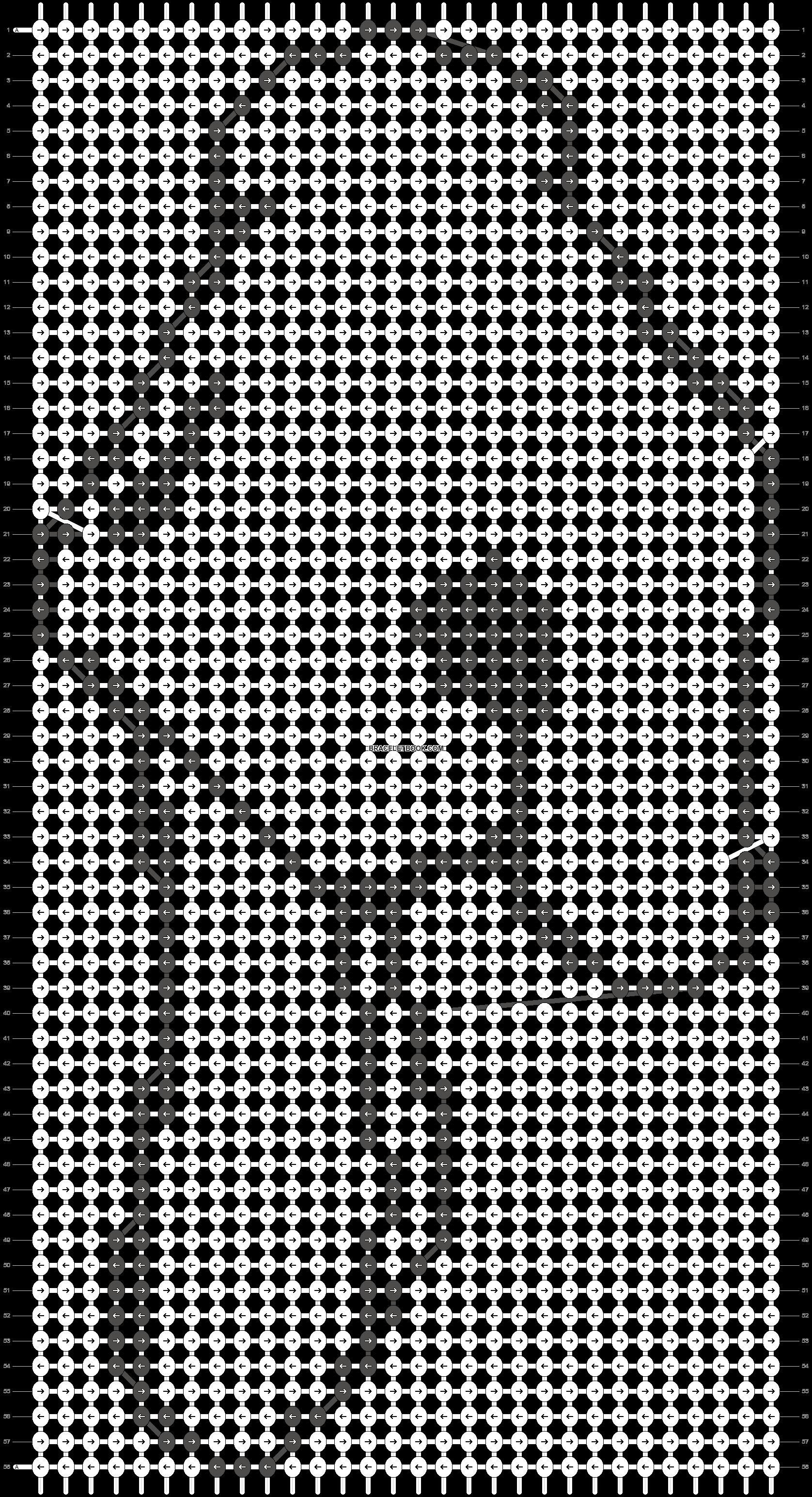 Alpha pattern #10141 pattern