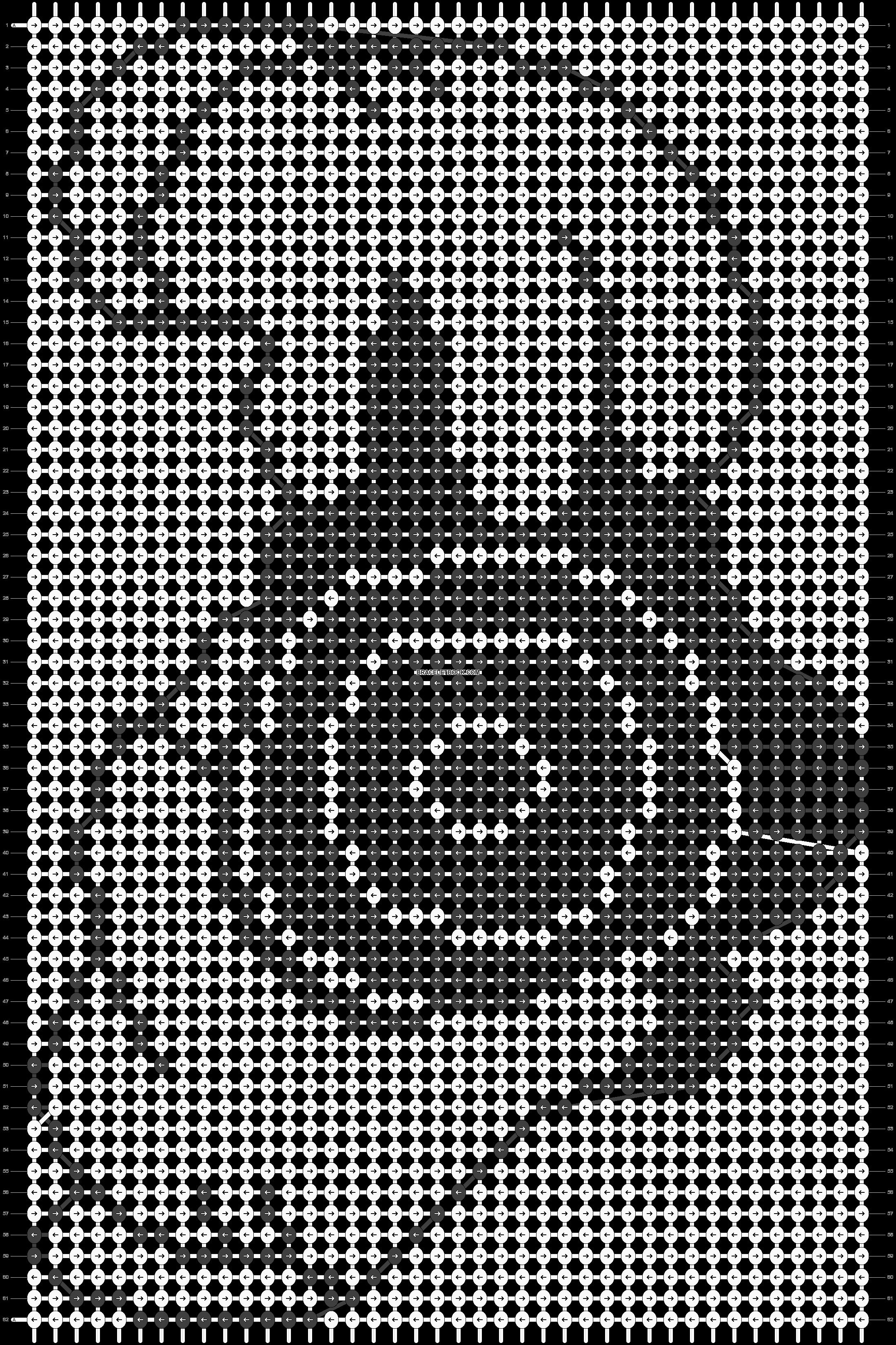 Alpha pattern #10146 pattern