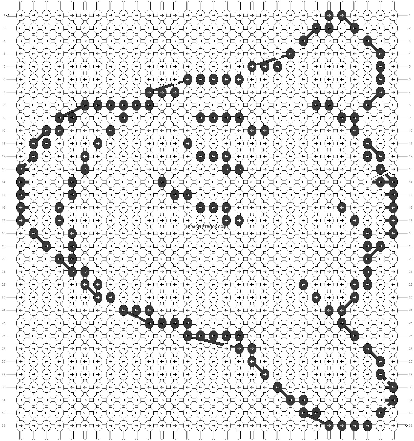 Alpha pattern #10147 pattern