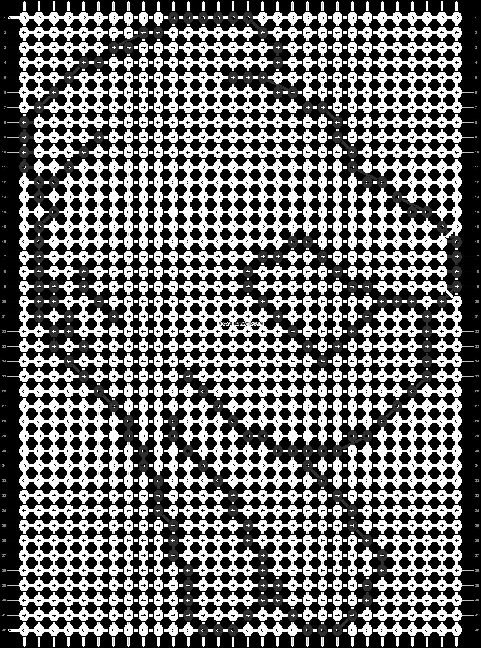 Alpha pattern #10150 pattern