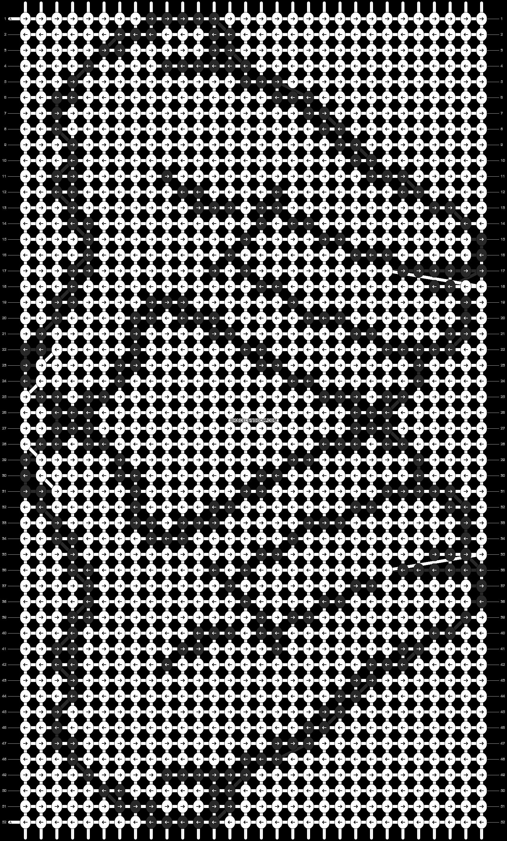 Alpha pattern #10151 pattern