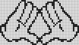 Alpha pattern #10151