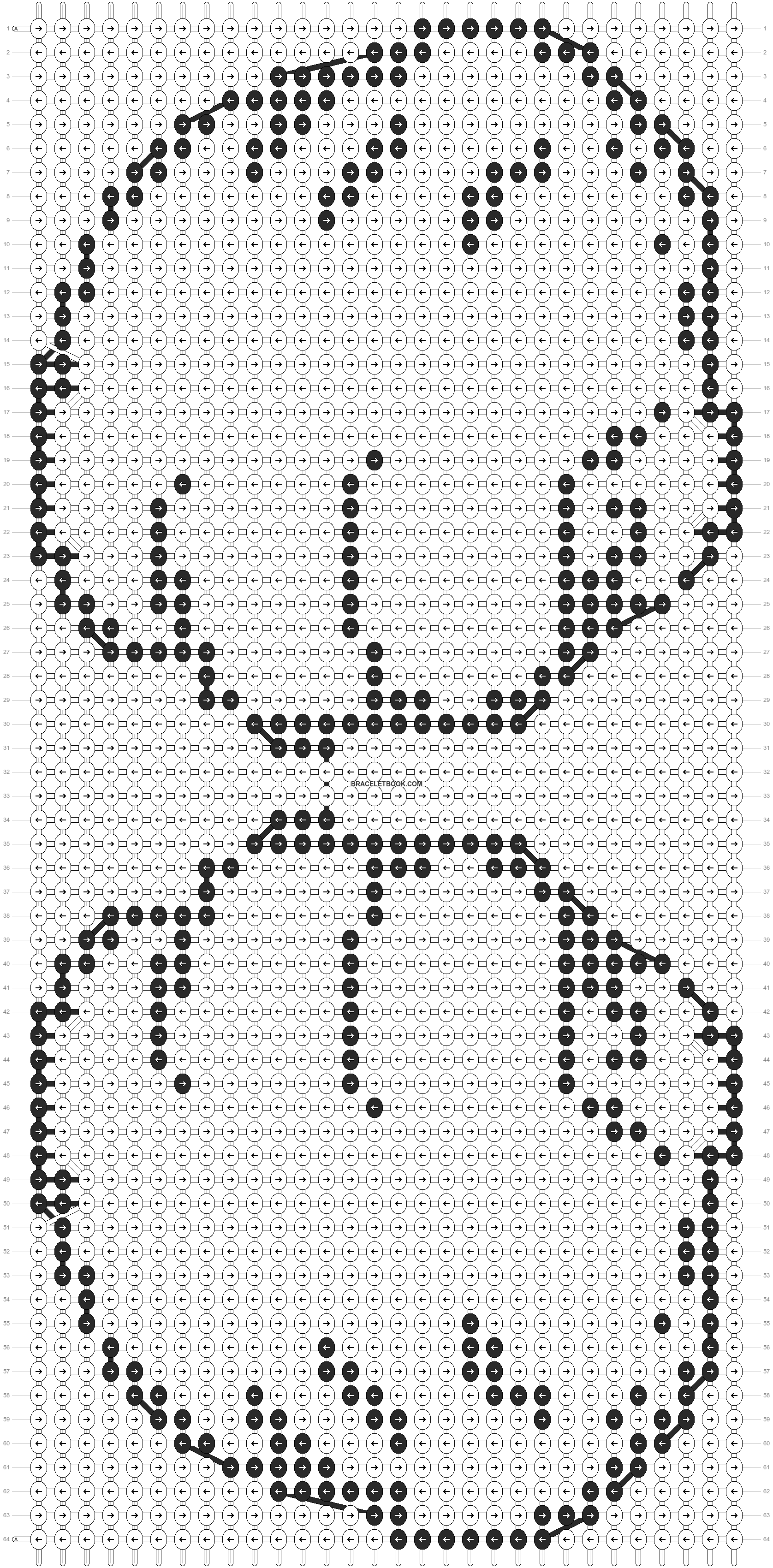 Alpha pattern #10152 pattern