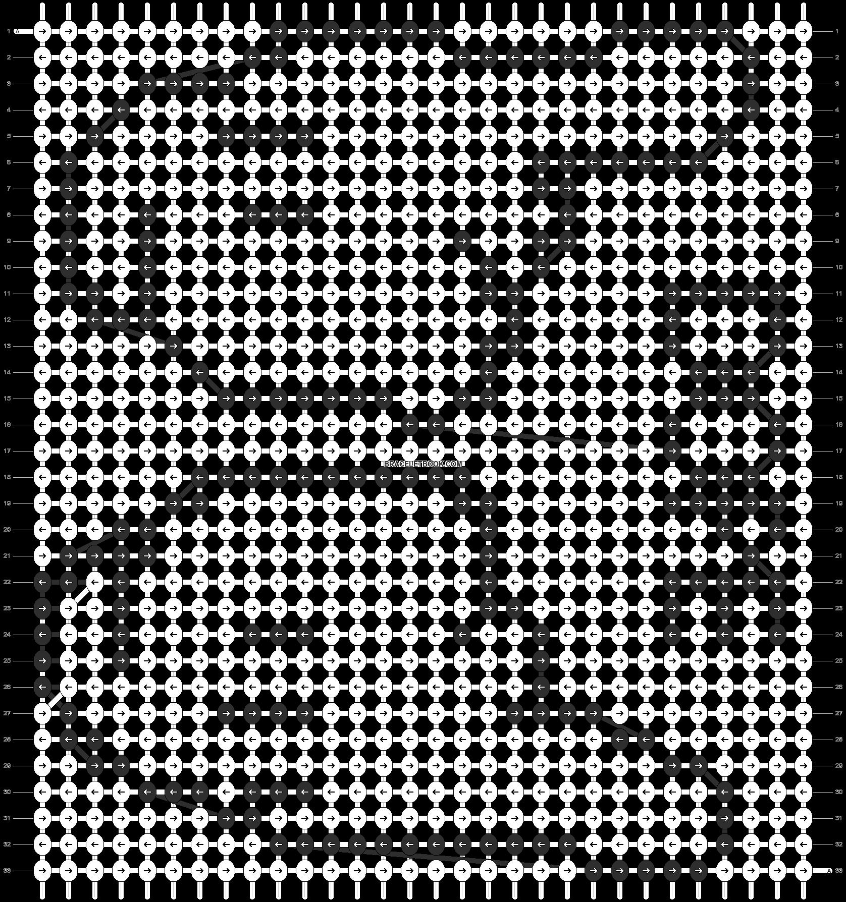 Alpha pattern #10155 pattern