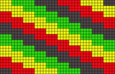 Alpha pattern #10158