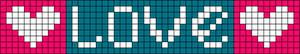 Alpha pattern #10161