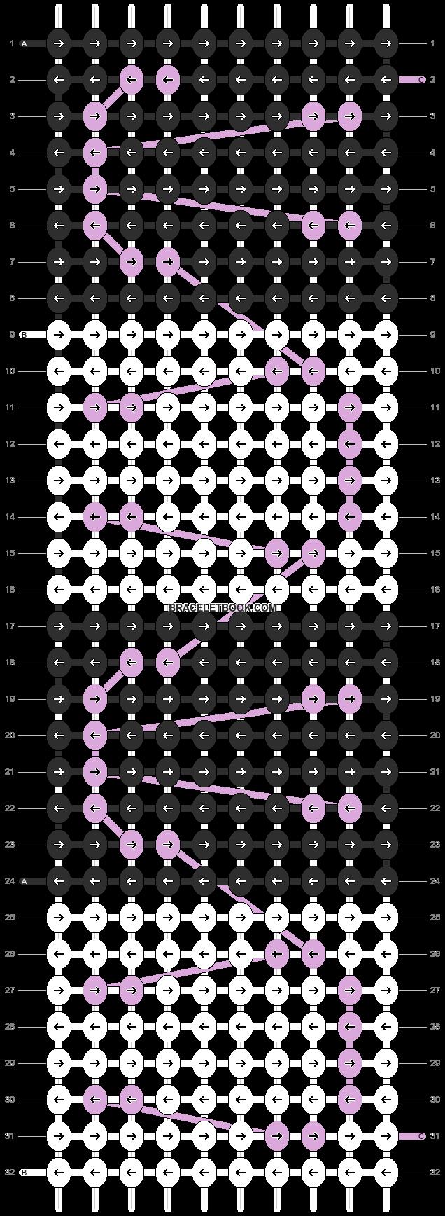 Alpha pattern #10162 pattern