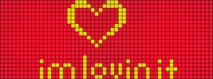 Alpha Friendship Bracelet Pattern #10171