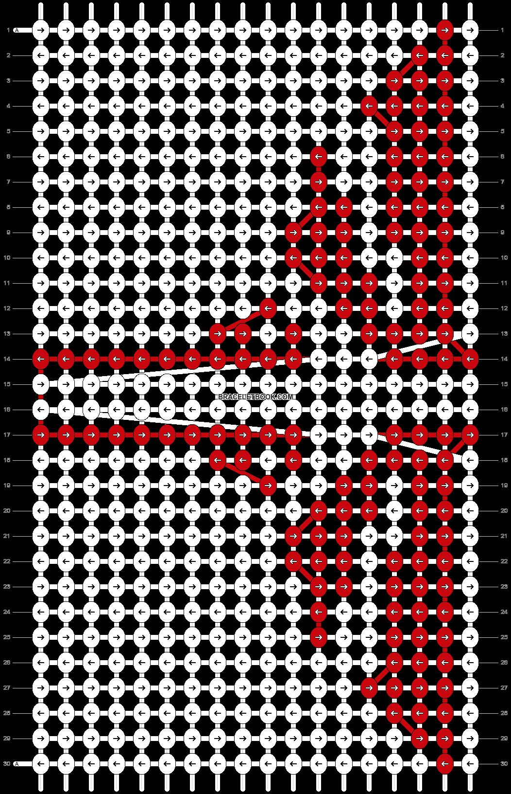 Alpha pattern #10173 pattern