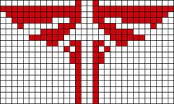 Alpha pattern #10173