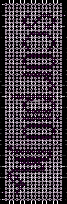 Alpha pattern #10174 pattern