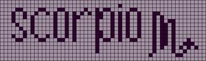 Alpha pattern #10174