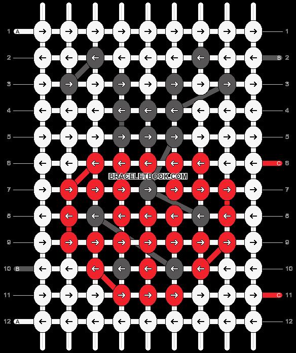 Alpha pattern #10178 pattern