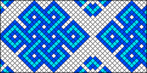 Normal Friendship Bracelet Pattern #10182