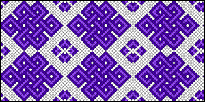 Normal Friendship Bracelet Pattern #10183
