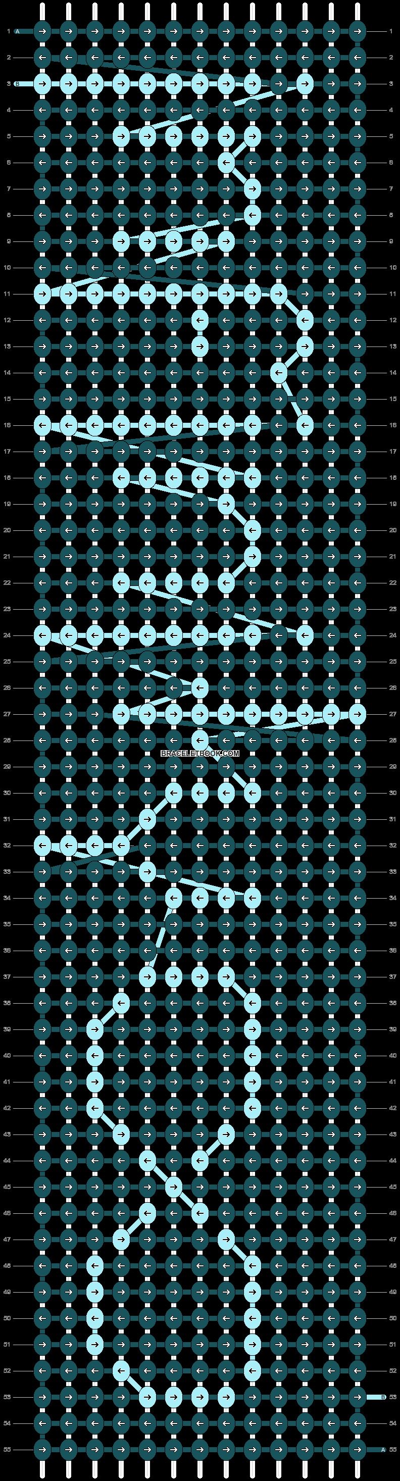 Alpha pattern #10185 pattern
