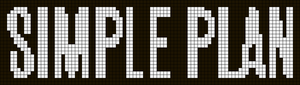 Alpha Friendship Bracelet Pattern #10188