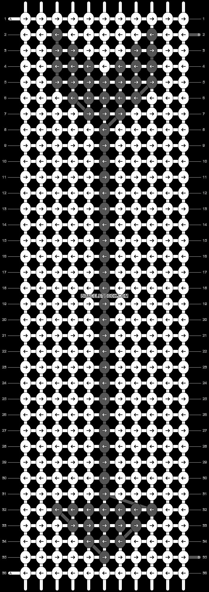 Alpha pattern #10196 pattern
