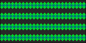 Normal Friendship Bracelet Pattern #10205