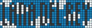 Alpha Friendship Bracelet Pattern #10208