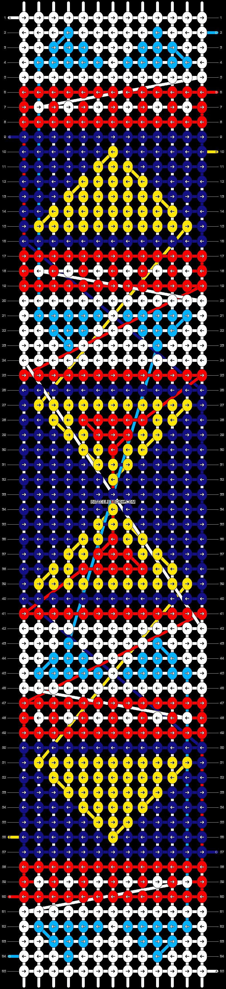 Alpha pattern #10214 pattern